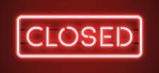 Closed until further notice.